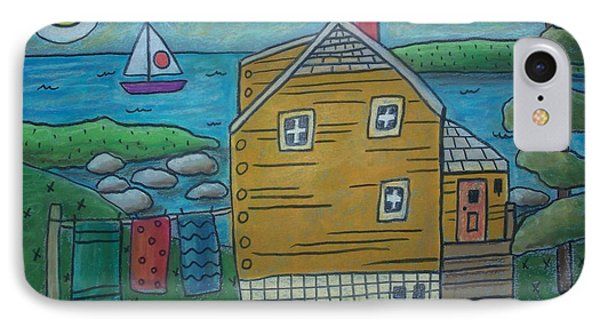 Shore Cottage Phone Case by Karla Gerard