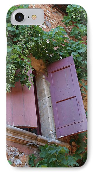 Shutters And Grapevines IPhone Case