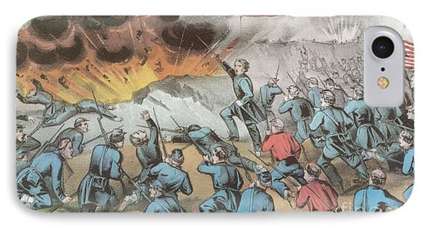 Siege And Capture Of Vicksburg, 1863 Phone Case by Photo Researchers