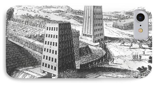 Siege Of Jerusalem 1229 Phone Case by Photo Researchers