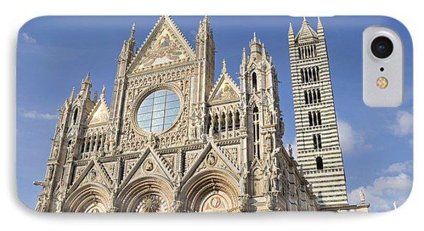 Siena Cathedral - Duomo Santa Maria Assunta Phone Case by Matthias Hauser