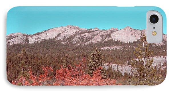 Sierra Nevada Mountain IPhone Case by Naxart Studio