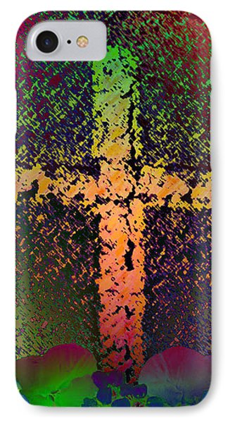 IPhone Case featuring the photograph Sign Of The Cross by David Pantuso