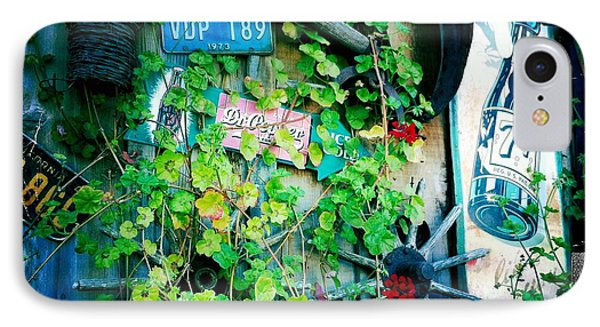 IPhone Case featuring the photograph Sign Wall by Nina Prommer