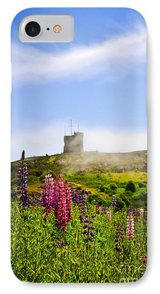 Signal Hill In St. John's Newfoundland IPhone Case by Elena Elisseeva
