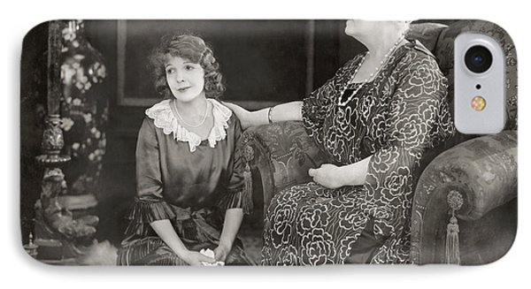 Silent Film Still: Women Phone Case by Granger