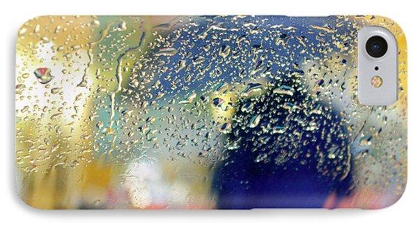 Silhouette In The Rain Phone Case by Carlos Caetano