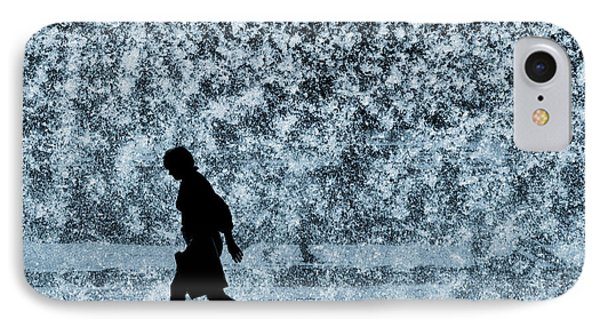 Silhouette Over Water Phone Case by Carlos Caetano
