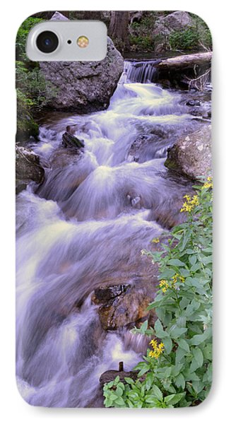 Silky Stream IPhone Case by Zawhaus Photography