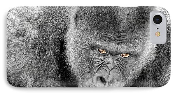 Silverback Staredown IPhone Case