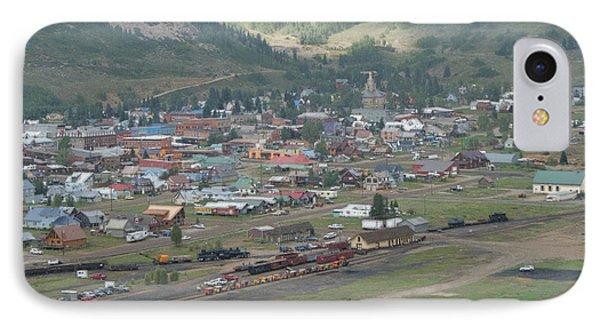 Silverton Colorado Painterly Phone Case by Ernie Echols