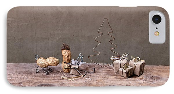 Simple Things - Christmas 06 IPhone Case by Nailia Schwarz