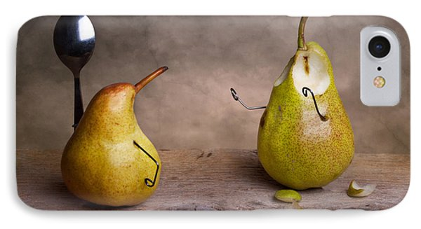 Pear iPhone 7 Case - Simple Things 13 by Nailia Schwarz