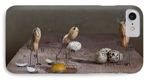 Simple Things Easter 04 IPhone Case by Nailia Schwarz