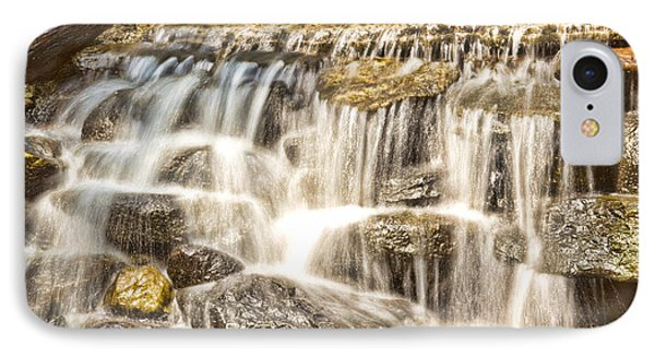 Simple Yet Powerful Waterfall Phone Case by Daphne Sampson