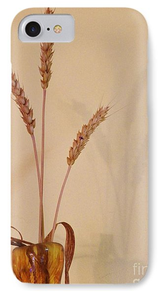 Simplicity And Sustenance IPhone Case by Judy Via-Wolff