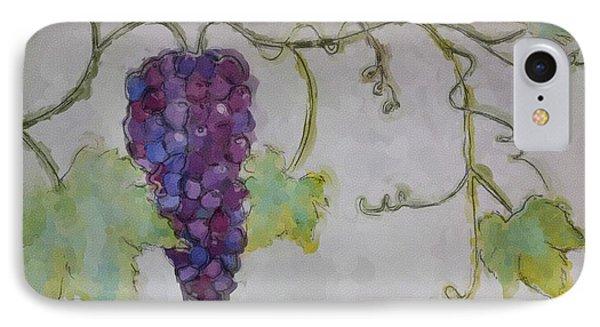 Simply Grape Phone Case by Heidi Smith