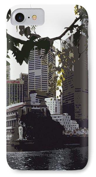 Singapore's Merlion Phone Case by Juergen Weiss