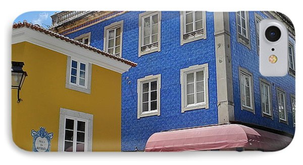 IPhone Case featuring the photograph Sintra Portugal Buildings by Kirsten Giving