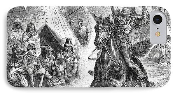 Sioux War, 1876 Phone Case by Granger