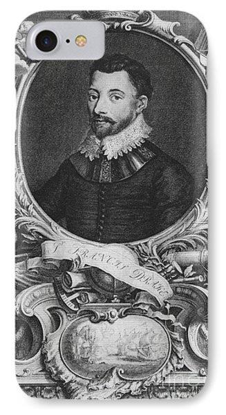 Sir Francis Drake, English Explorer Phone Case by Photo Researchers, Inc.