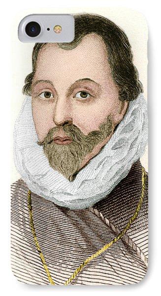 Sir Francis Drake, English Explorer Phone Case by Sheila Terry