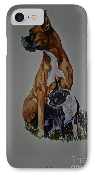 Sister Story Phone Case by Susan Herber