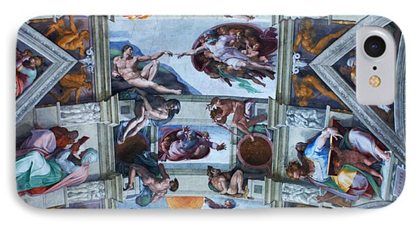 Sistine Chapel Ceiling Phone Case by Bob Christopher