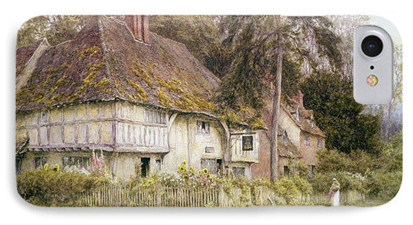 Six Bells Hollingbourne Kent  Phone Case by Helen Allingham