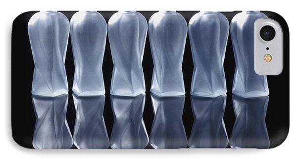 Six Glass Bottles Phone Case by David Chapman