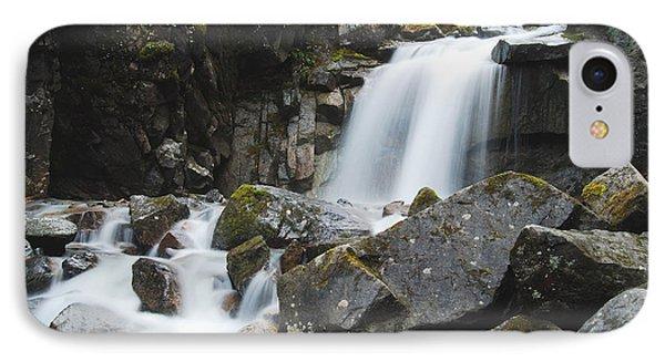 Skagway Waterfall 8619 Phone Case by Michael Peychich