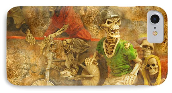 Skeleton Crew IPhone Case
