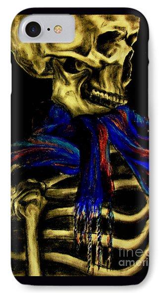Skeleton Fashion Victim Phone Case by Tylir Wisdom