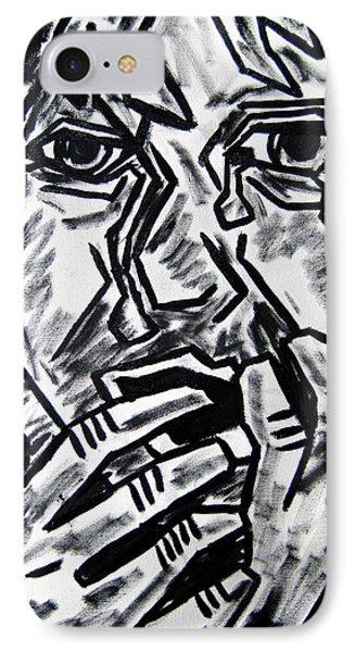 Sketch - Weeping Child Phone Case by Kamil Swiatek