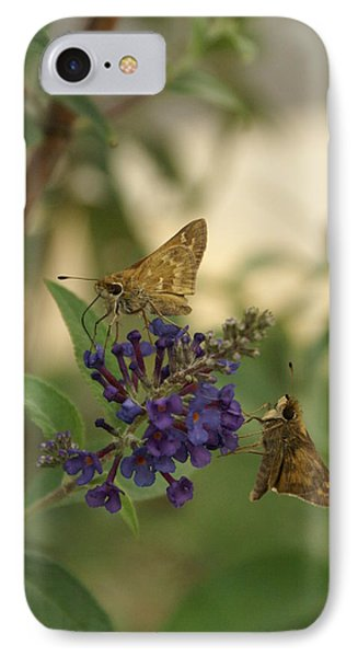 IPhone Case featuring the photograph Skipper by Heidi Poulin