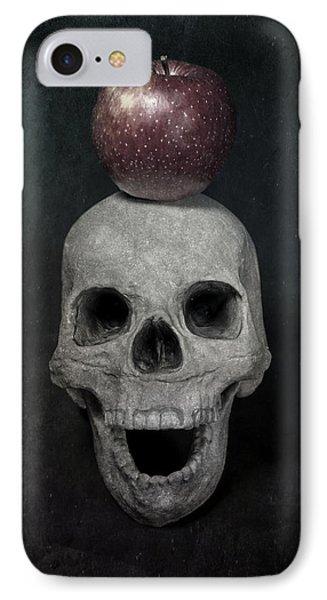 Skull And Apple Phone Case by Joana Kruse