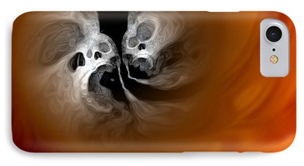 Skull Scope 4 Phone Case by Adam Vance