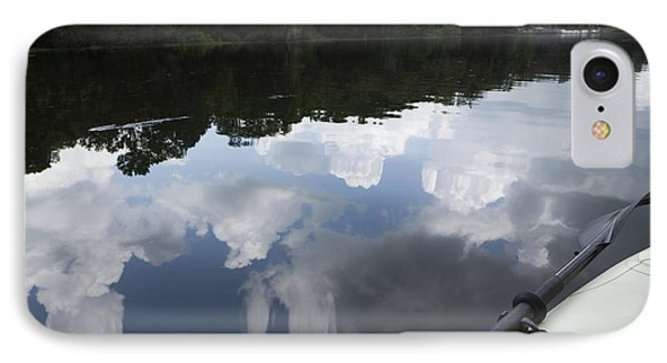 Sky And Clouds Reflected In River Phone Case by Roberto Westbrook