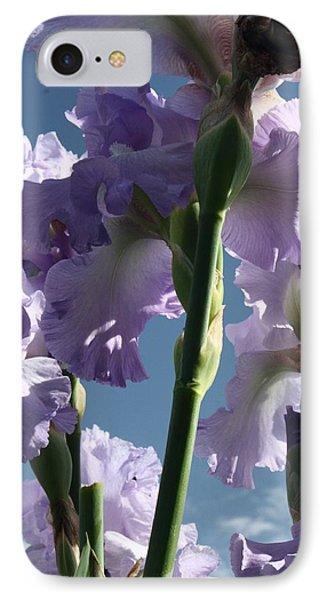 Sky And Flowers IPhone Case