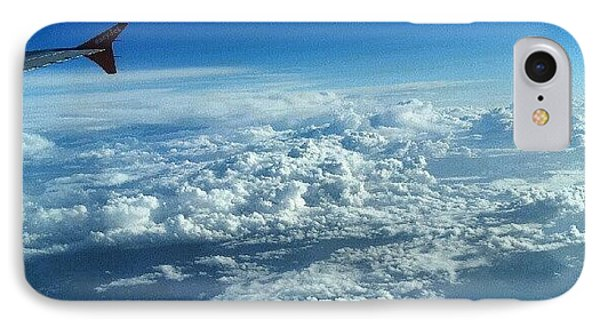 #sky #cloudy On The Way To #jordan IPhone Case by Abdelrahman Alawwad