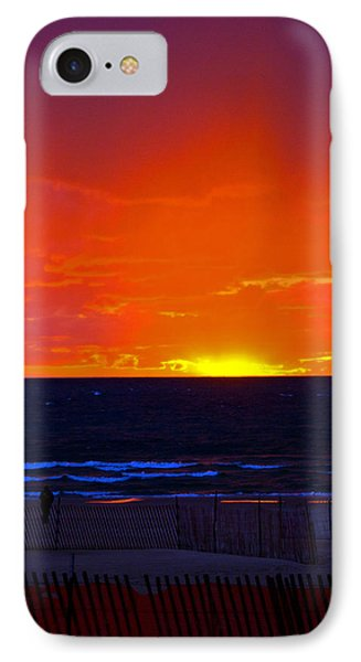 IPhone Case featuring the photograph Sky Fire by Randall  Cogle