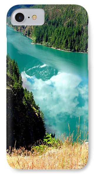 IPhone Case featuring the photograph Sky Reflection In Ross Lake by Tanya  Searcy