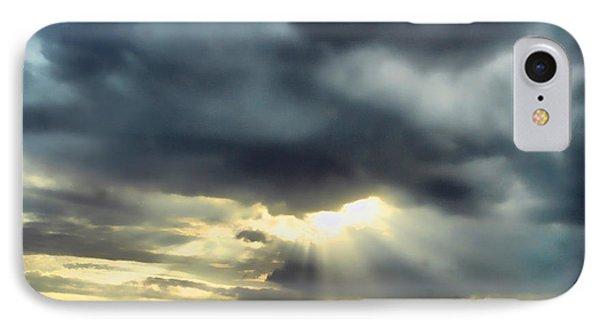Sky In Turmoil Phone Case by Tom Schmidt