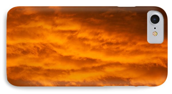 Sky Of Fire IPhone Case by Colleen Coccia