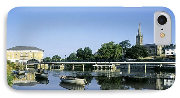 Skyline Over The River Garavogue, Sligo Phone Case by The Irish Image Collection