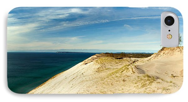 Sleeping Bear Dunes IPhone Case by Larry Carr