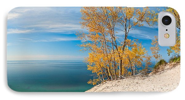 Sleeping Bear Dunes Vista 001 IPhone Case by Larry Carr