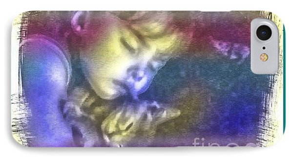Sleeping With Love Phone Case by Michelle Frizzell-Thompson