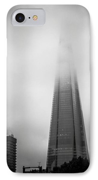 IPhone Case featuring the photograph Slicing Through The Mist by Lenny Carter