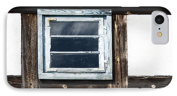 IPhone Case featuring the photograph Small Blue Window by Agnieszka Kubica